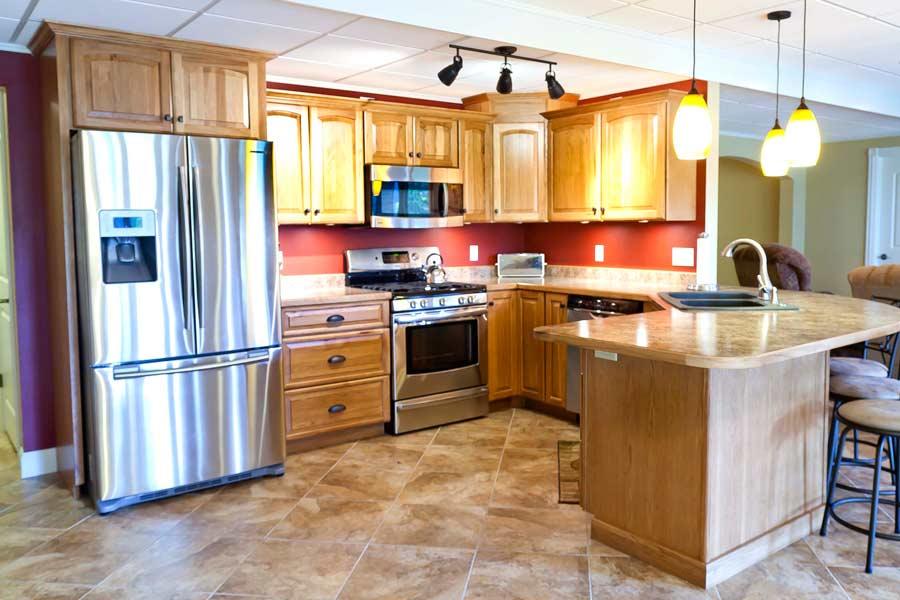 Kitchen 4 mettes cabinet corner for Bathroom cabinet 900 x 600