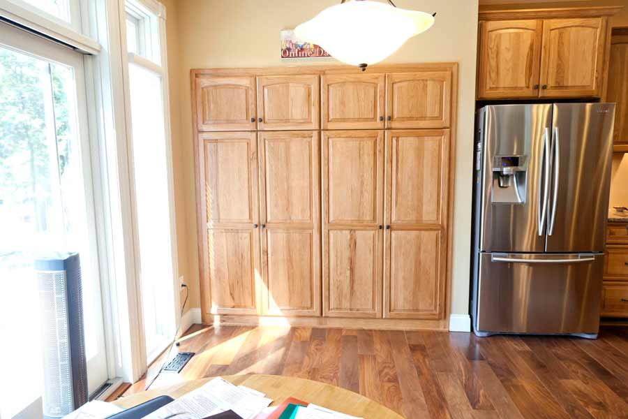 Kitchen 3 mettes cabinet corner for Bathroom cabinet 900 x 600