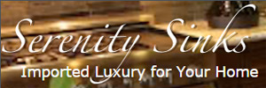 Serenity Sinks: imported luxury for your home